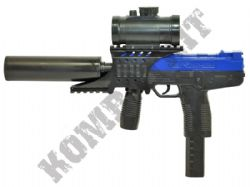 M30P Airsoft BB Gun Black and Blue